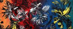 Chromatisme - 40 x 100 cm