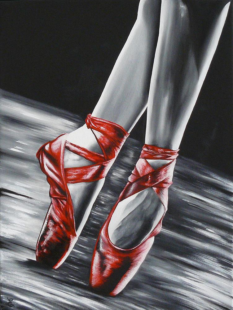 """"""" Les chaussons rouges """""""