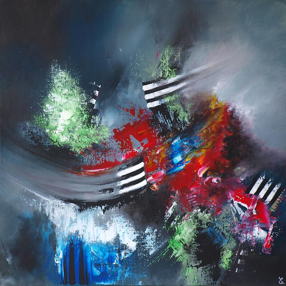 Evanescence - 80 x 80 cm