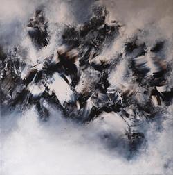 Effervescence - 80 x 80 cm