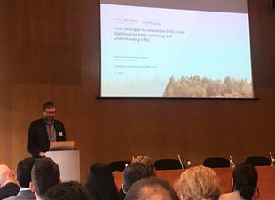 Vortrag auf der EPD International Stakeholder Conference in Bilbao