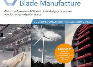 Vortrag auf der Konferenz 'Wind Turbine Blade Manufacture'