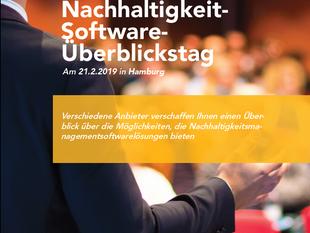 Nachhaltigkeit-Software-Überblickstag am 21. Februar 2019 in Hamburg