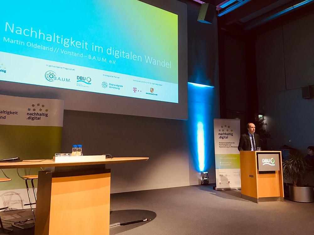 brands & values auf dem nachhaltig.digital Jahreskongress 2019