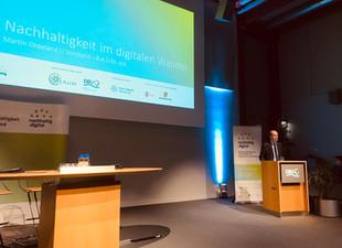 brands & values auf dem nachhaltig.digital Jahreskongress
