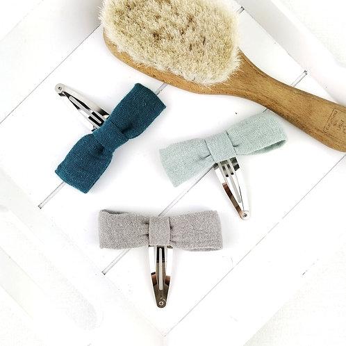 Haarschleifen-Set Musselin