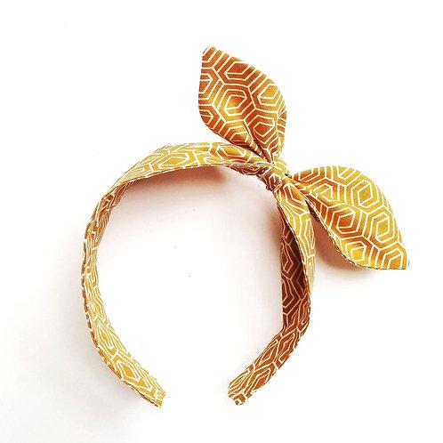 Haarreifen für Mädchen mit schleife retro