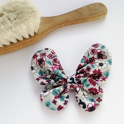 Frau Rosmarin Haarschleife handgemacht Schmetterling Blumen