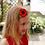Kinderhaarspange Filzblüte Frau Rosmarin