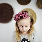 Frau Rosmarin Haarband Musselin