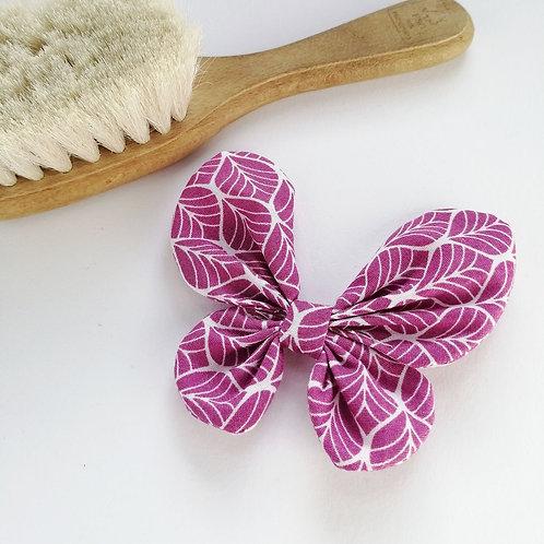 Frau Rosmarin Haarschleife Schmetterling handgemacht