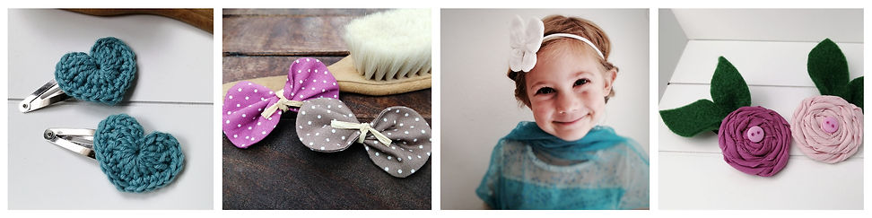 Frau Rosmarin außergewöhnlicher Haarschmuck für Kinder