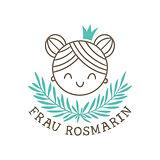 Frau Rosmarin Kinderhaarspangen