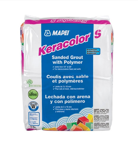 Mapei Keracolor S (Sanded ) 25lb #27 Silver