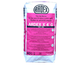 Ardex X4 Tile And Stone Mortar (Gray) 40lb