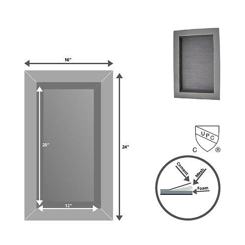 "IB Shower Niches, Inside (12""X20""), Deep (3.5"")"