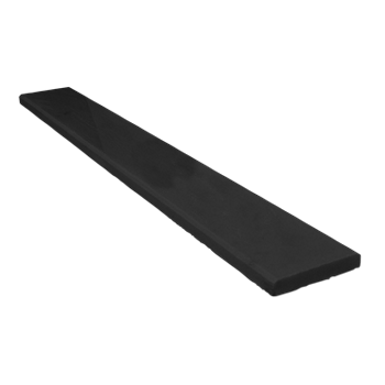 Quartz Shower Jamb Black 96x6 (15mm)