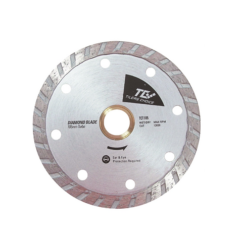 """TILERS CHOICE TURBO 4.5"""" BLADE, Dry or Wet"""