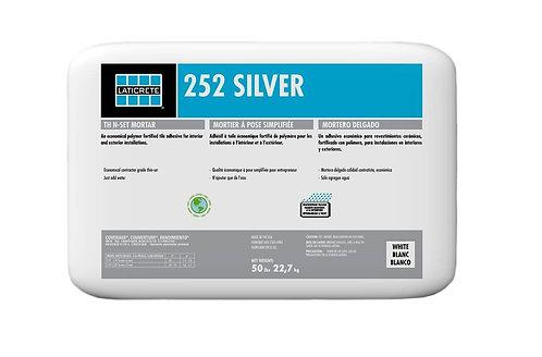 Laticrete 252 Silver Thin-set Mortar - 50 lb bag (White)