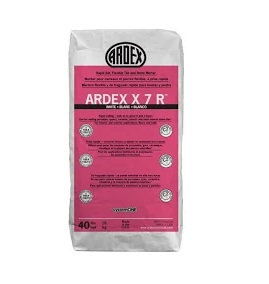 Ardex-X7R Rapid Flex. Thinset Mortar 40lb White