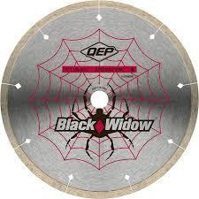 "Black Widow Segmented Blade 7"""