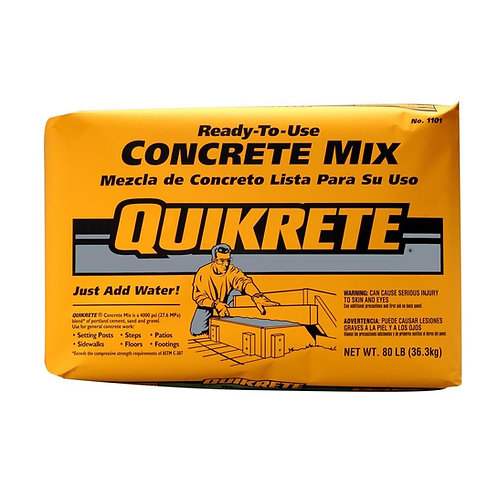 Quikcrete Sand Mix 4 To 1 66lbs