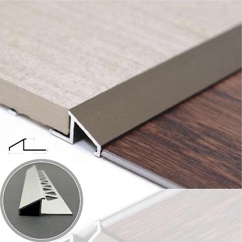 """Tile to Floor Profile Matt Stain 1/2"""" 12.5mm"""
