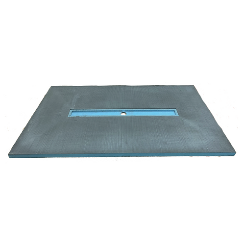 """Shower Base 48""""x48""""X1.5"""" (6""""Square Drain in center)"""