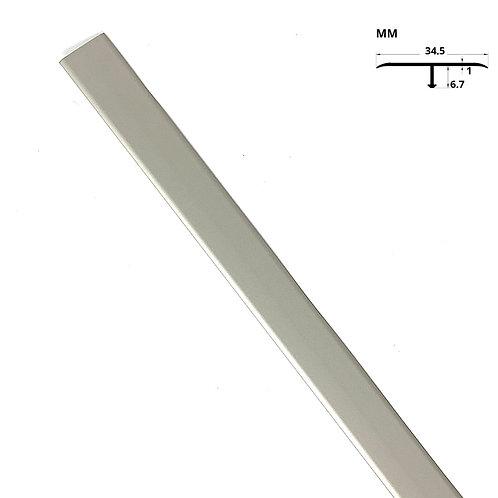 """T- Profile Trim Titanium (36"""" Length)"""