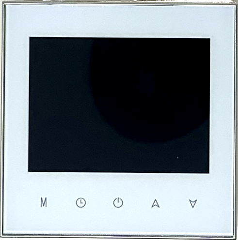 "Wi-Fi Smart Thermostat 3X3"" White"