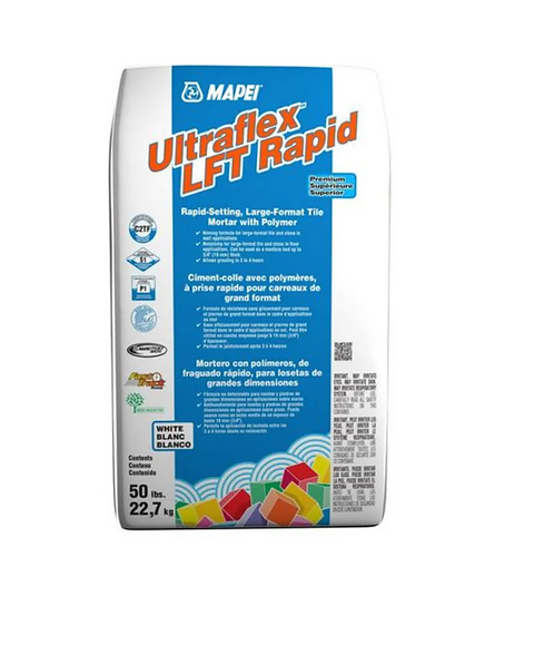 Mapei Ultraflex L F T Rapid Set White 50lb