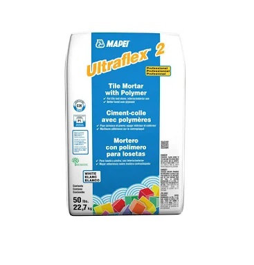 Mapei Ultraflex 2 Gray Polymer Modified 25lbs
