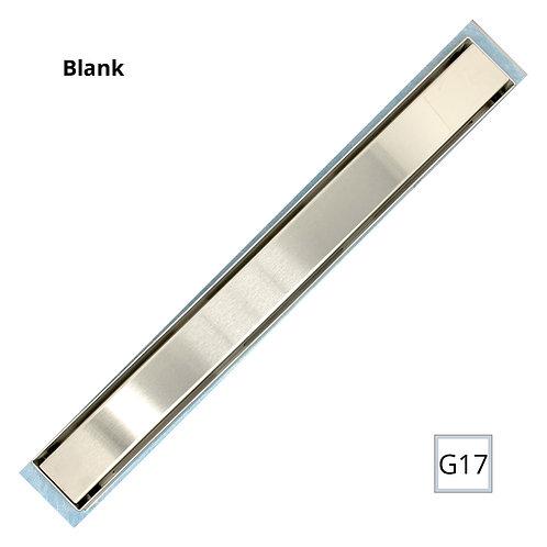 "Linear Drain with Adjustable legs 48""(Blank)"