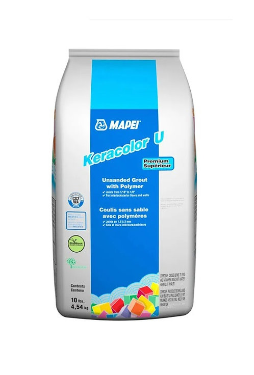 Mapei Keracolor U Grout with Polymer 10lbs #10 Black