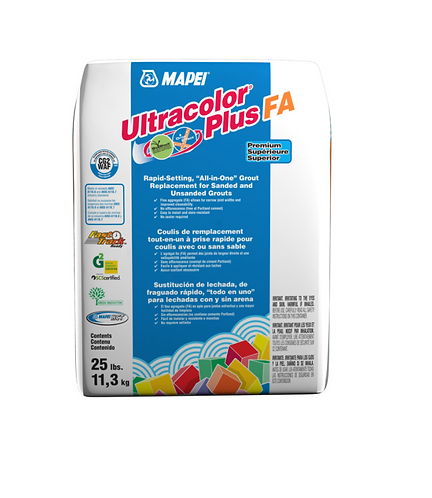 Mapei Ultracolor+ Fa Grout 25lbs #00 White