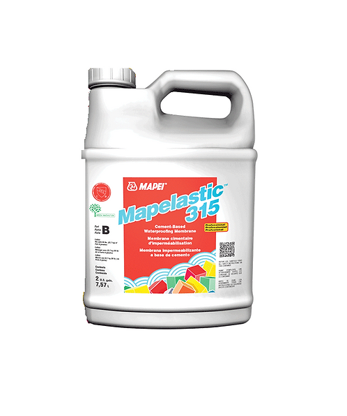 "Mapei Mapelastic Prp315""Liquid "" 7.56lt,Waterproofing Membrane"