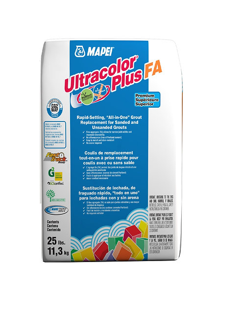 Mapei Ultracolor+ Fa Grout 25lbs #27 Silver