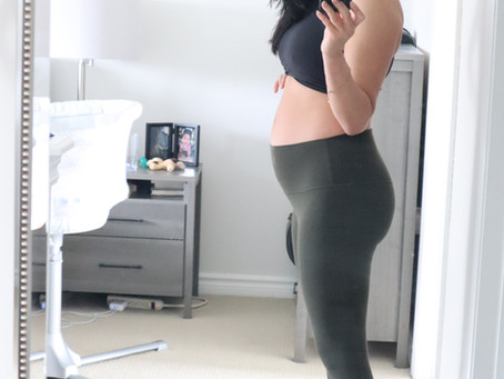 My Postpartum Fitness Journey: Week 1