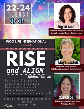 Rise and Align Spiritual Retreat