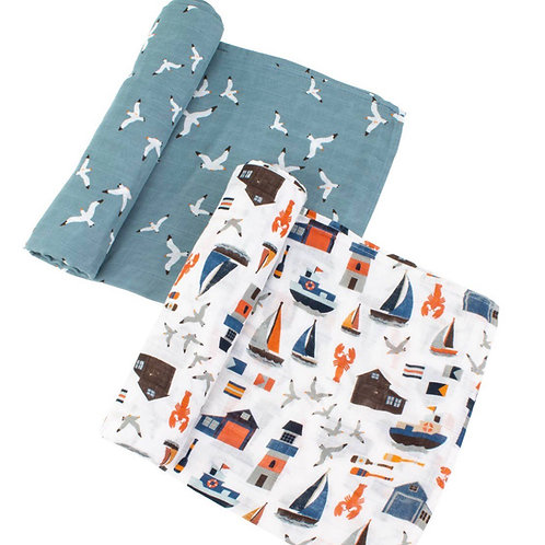 Swaddle blanket set of 2