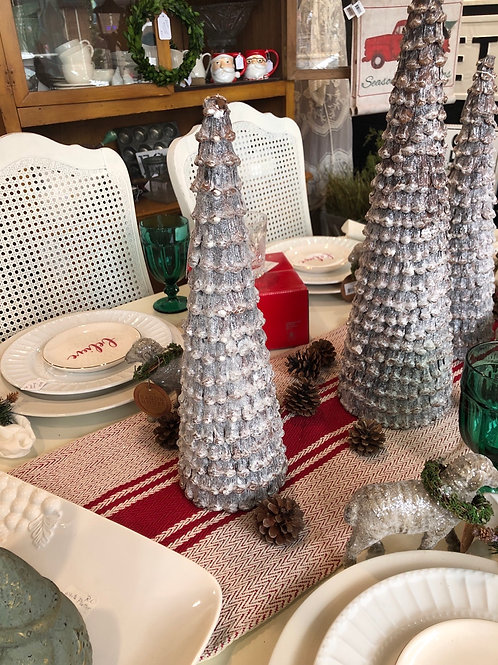 Frosted Pinecone tree - medium