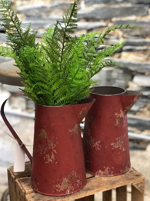 Farmhouse Pitcher - Red