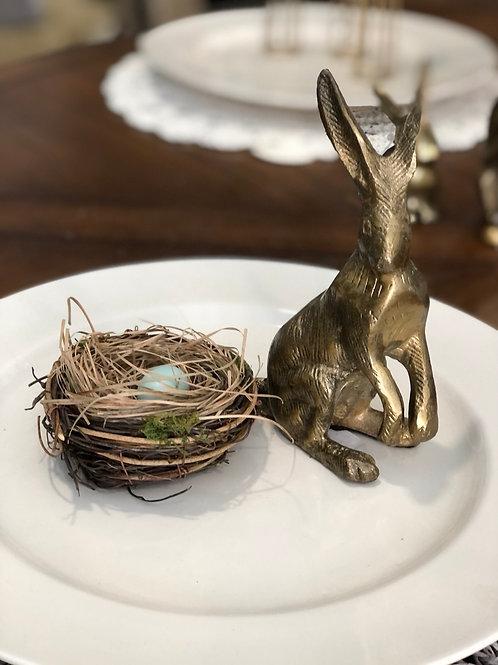 Brass bunny