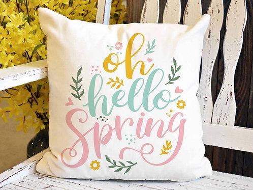 Pillow - Oh Hello Spring