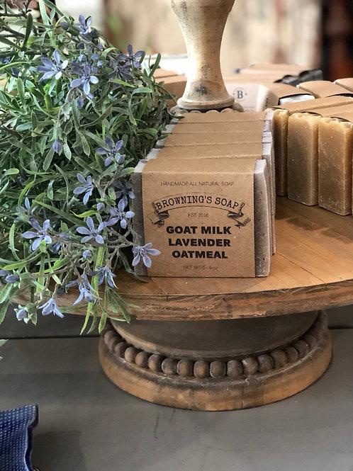 Soap - Lavender Oatmeal (Goat Milk)