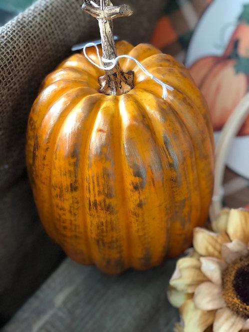 Pumpkin - plastic (orange/silver)