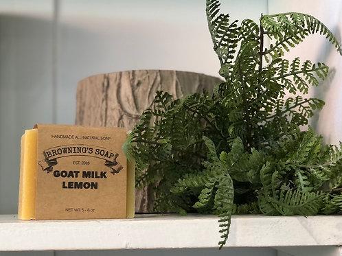 Soap- goatmilk lemon