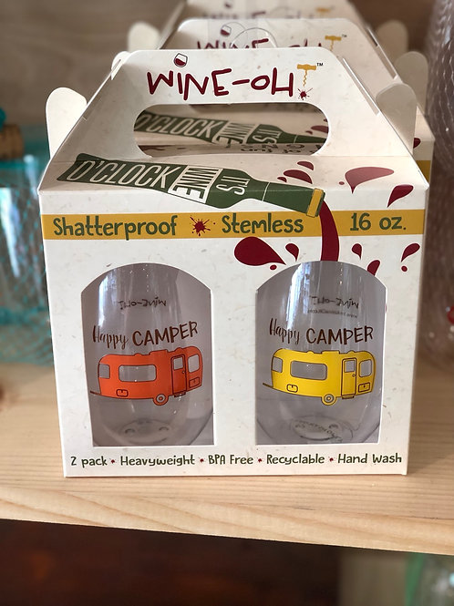 Stemless Wine Tumblers