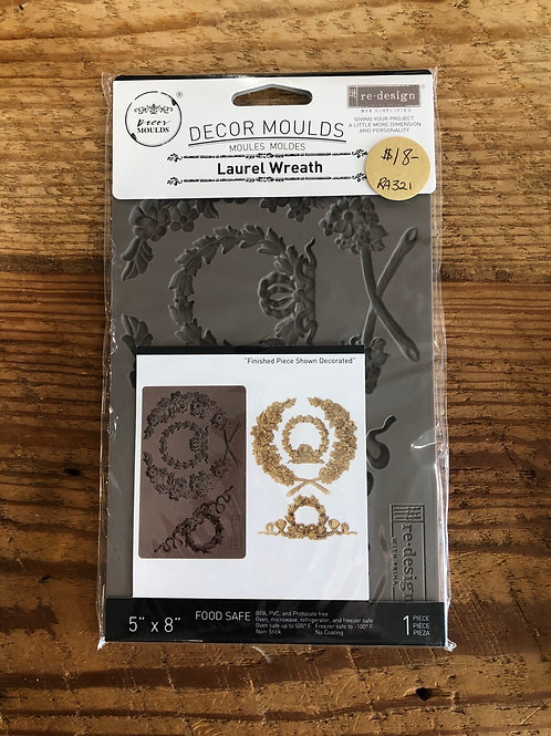 Decor Mould - Laurel Wreath