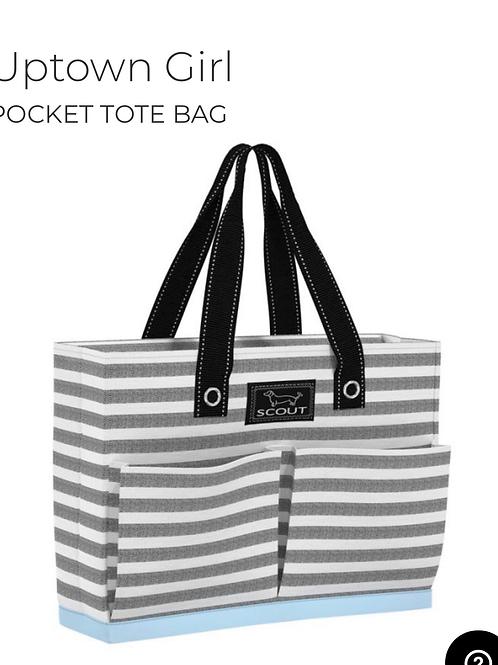 Uptown Girl - Pocket Tote Bag